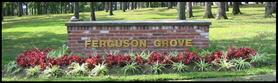 Ferguson Grove sign