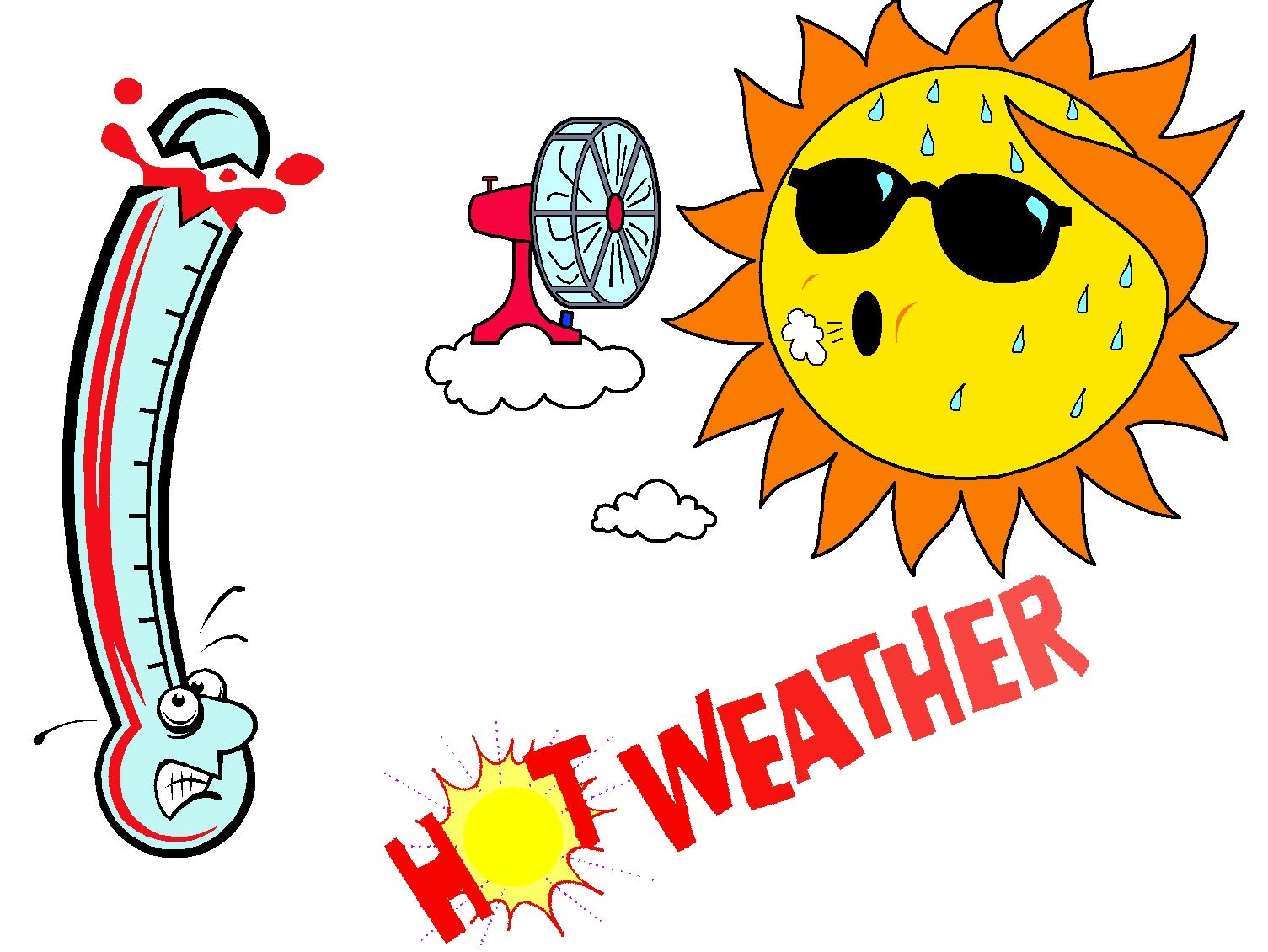 extreme-heat-clipart